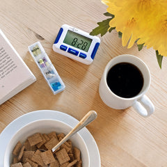 TabTime Timer - Pill Alarm Reminder with Eight Alarms