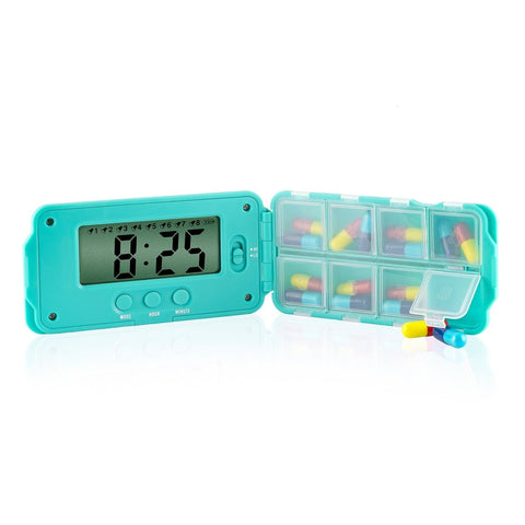TabTime super 8 with eight compartments and eight easily set-able alarms