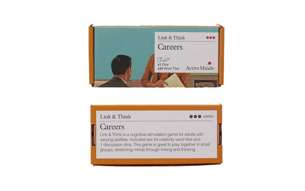 Link and Think - Careers Game for People with Dementia - Tabtime Limited