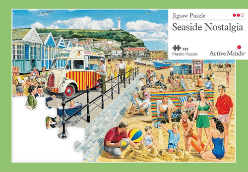Seaside Nostalgia: Active Minds Puzzle for People with Dementia - Tabtime Limited