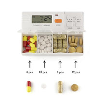 TabTime 4 - Pill box with an alarm with large compartments - Tabtime Limited