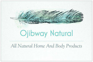 blue feather logo ojibway natural all natural home and body products