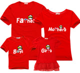 Family matching clothes 2017 Leisure new summer cotton T-shirts boy for father mother son daughter family matching outfits look