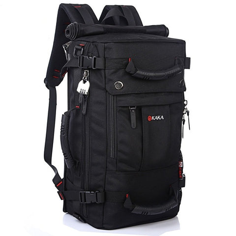DB92 High Quality Brand Men's Travel Bags Fashion Men Backpacks Men's Multi-purpose Travel Backpack Multifunction Shoulder Bag
