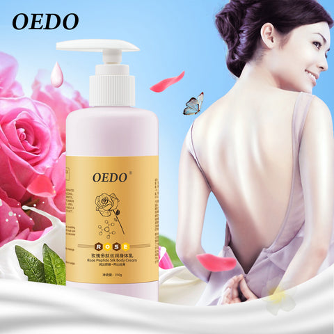 Rose Peptide Silk Body Cream Keep Skin Moist Nourishing Improve Dry and Rough Skin Anti-chapping Bright Whitening Antibacterial