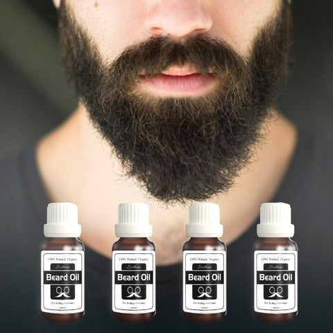 2bottles New Original Men Beard growth oil mustache grow serum stimulator 100% natural acceler eyebrow essence Hair Loss Product