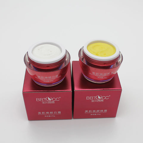 BBTOCC Nationawide  magic cream key-2 luxury crystal snow muscle through  set whitening anti wrinkle cream