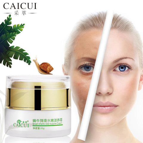 CAICUI Korea Gold Snail Face Cream, Moisturizing Whitening Anti-aging Anti wrinkle snail shells slip supple Day Cream Face Care