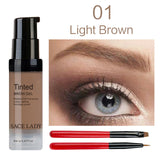 SACE LADY Eyebrow Tint 6ml Makeup Pomade Brush Kit Brown Henna Eye Brow Gel Cream Make Up Paint Pen Set Enhancer Wax Cosmetic