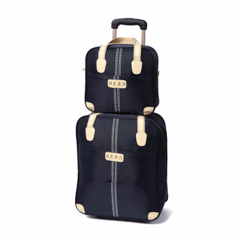 Men's Business Trolley Travel Luggage Bags Unisex Waterproof Trolley Cases Travel Boarding Bag Spinner with Suitcase Set Handbag