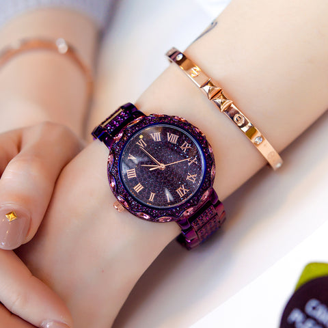 Top Quality Women Watches Luxury Rhinestone Diamond Wristwatch Lady Crystal Dress Watches Female Quartz Watch Christmas gift