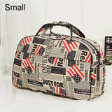 Bomlight Big Capacity Women Travel Bags Oxford Waterproof Luggage Duffle Bag Print Casual Travel Bags Handbag Shoulder Hand Bag
