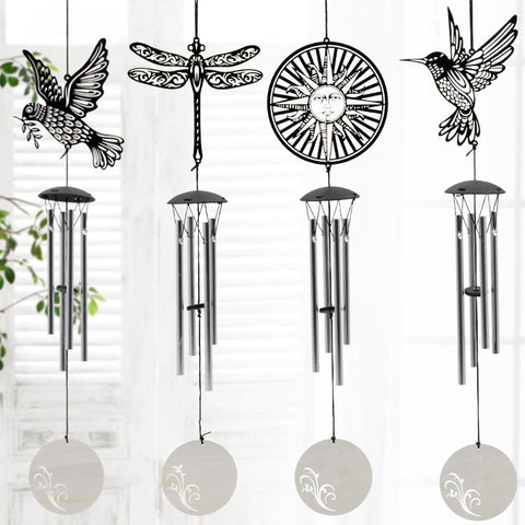 Stainless Steel  Wind Chimes Creative Gifts Home Furnishing Wind Chimes Metal Outdoor Hanging Decoration