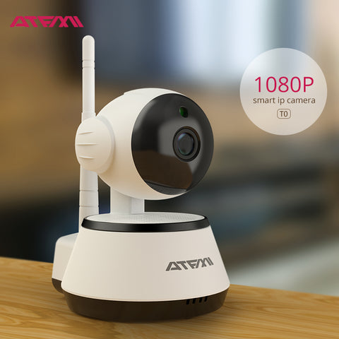 ATFMI T0L 1080P WIFI Camera Smart P2P IP camera  Best home house shop apartment  surveillance product wireless IP camera