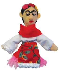 Frida Kahlo Figure Plush Doll