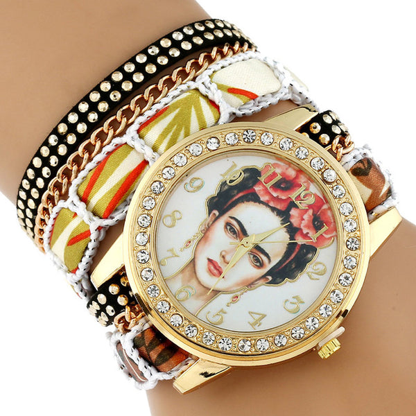 Frida Kahlo Fashion Watch