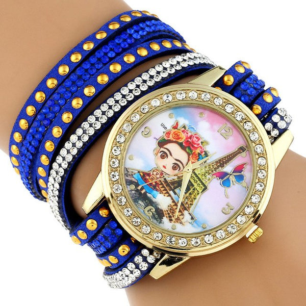 Frida Kahlo Paris Fashion Watch