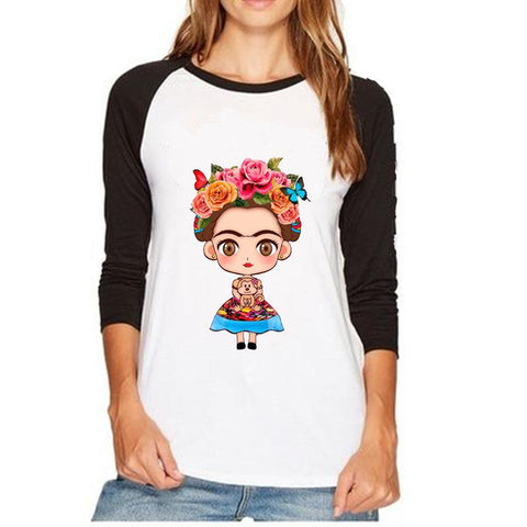 frida kahlo long sleeve