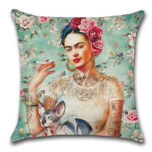 frida pillow case
