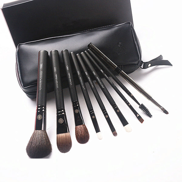 Leather and Wood Professional Brushes