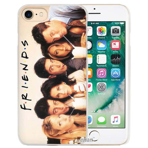 Friends Phone Hard Shell Case For Apple Iphones