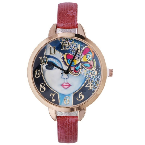 Frida Kahlo Butterfly Watch