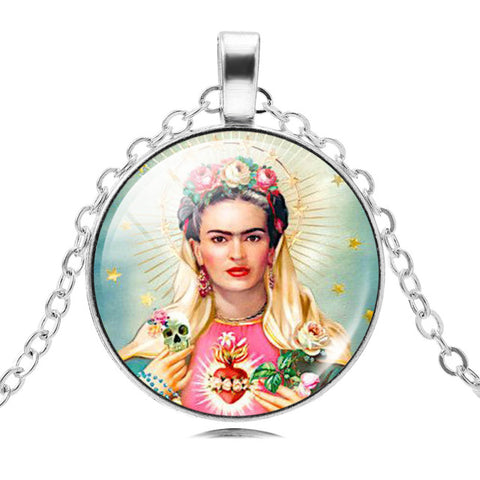 Frida Kahlo Pendant Necklace