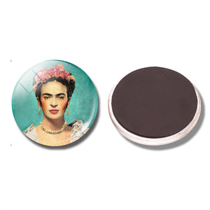 Frida Kahlo Fridge/Board Magnet