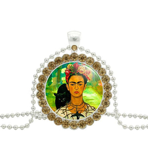 Frida Kahlo Ball Chain Necklace