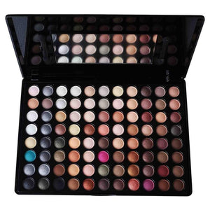 Colour Earth Eyeshadow Palette. Beauty Professional Cosmetic Makeup Set
