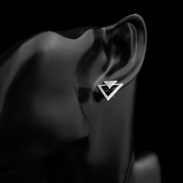 Elegant Triangle Earrings