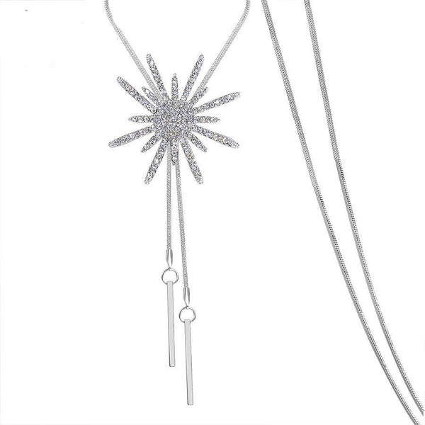Big Star Long Chain Necklace