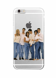 Friends Soft Phone Case for Iphone & Samsung