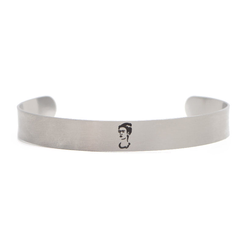 Frida kahlo Stainless Steel Bangle Bracelet