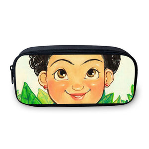 Frida Kahlo Pencil Case - Travel Make Up Case Organizer - Coin Change Bag