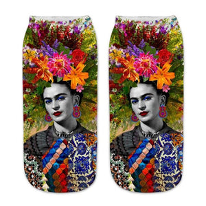 Frida Kahlo Short Socks