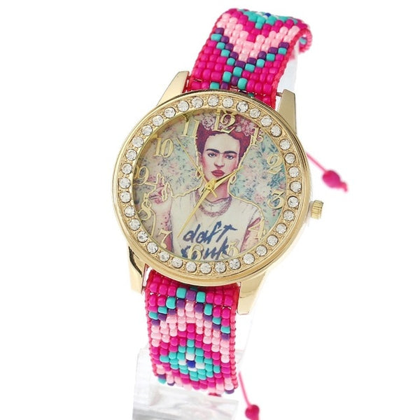Handmade Frida Kahlo Watch