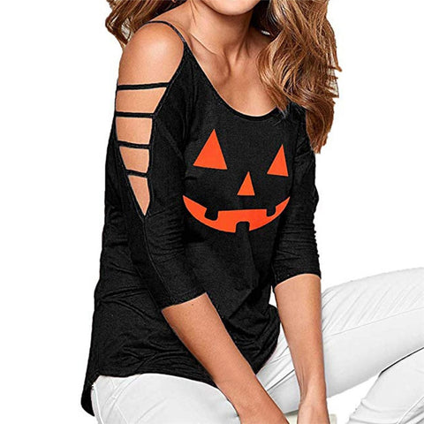 Halloween Blouse Black
