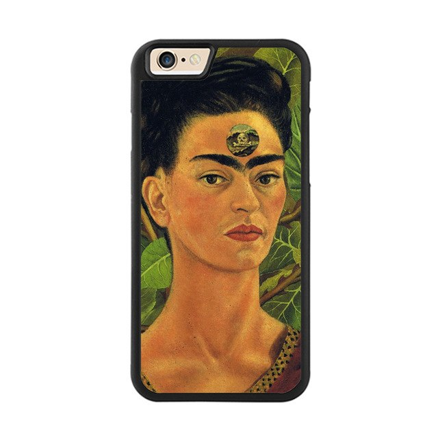 Frida Kahlo Painting High Protection Bumper Phone case