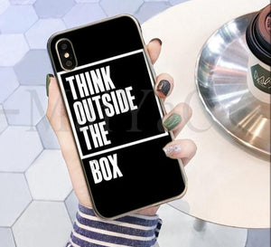 Think Outside The Box Phone Case