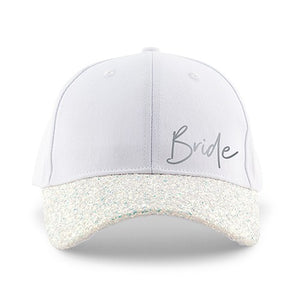 Team Bride Glitter Baseball Hat - Lucky Maiden