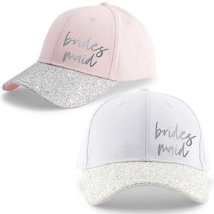 Maid of Honor and Bridesmaid Baseball Cap - Lucky Maiden
