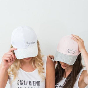 Maid of Honor and Bridesmaid Baseball Cap