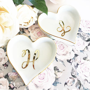 Heart Shaped Ring Dish Holder - Lucky Maiden