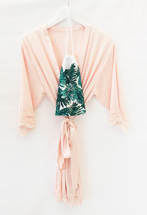 Tropical Travel Pouch for Robe - Lucky Maiden