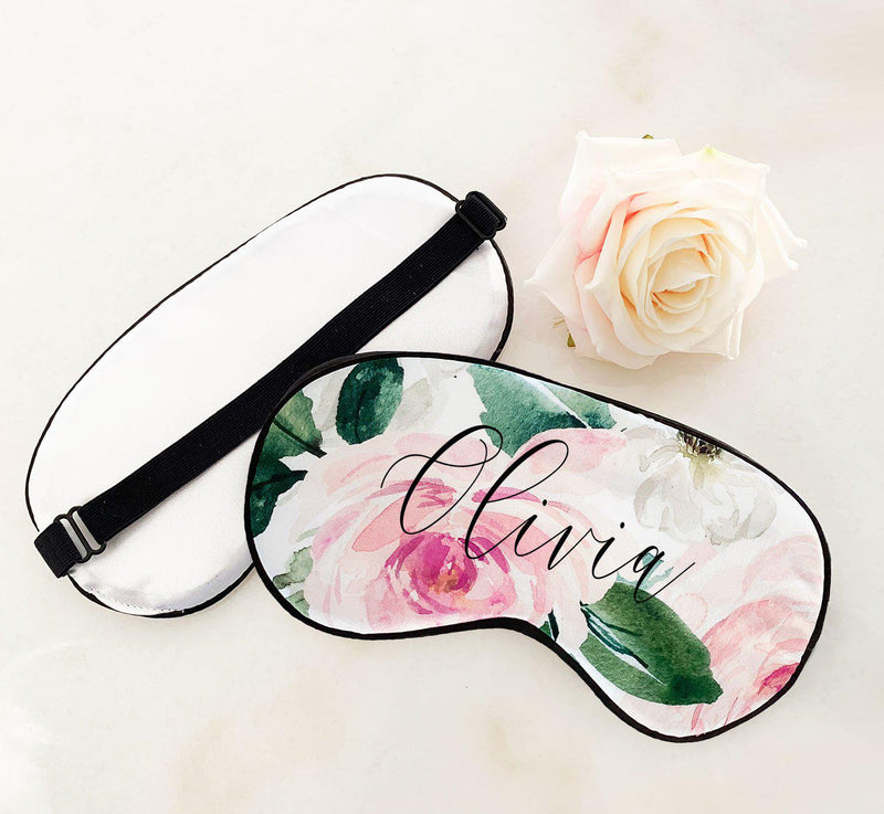 Personalized Sleep Mask - Lucky Maiden