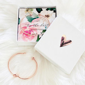 Tie the Knot Bracelet with Gift Box - Lucky Maiden