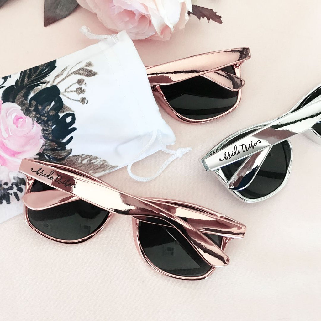 Bachelorette Party Sunglasses with Pouch - Lucky Maiden