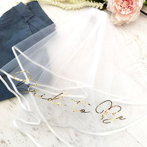 Bachelorette Party Veil - Lucky Maiden