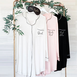Cozy Bride Sleep Shirt - Lucky Maiden
